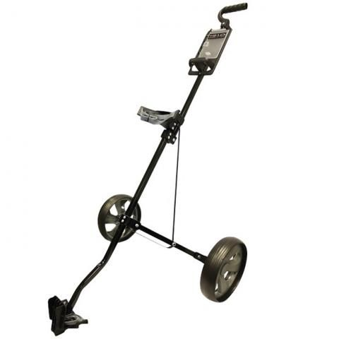 Glide-Tek 1.0 Golf Pull Trolley Black/Gunmetal