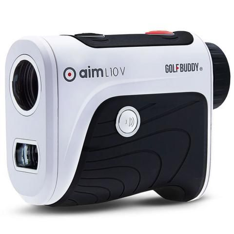 GolfBuddy aim L10V Voice Golf Rangefinder White/Black/Red