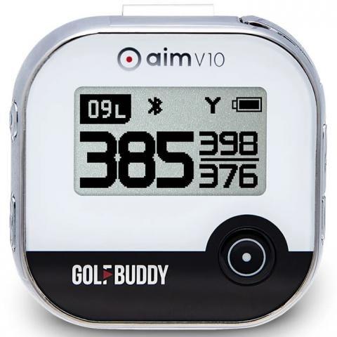 GolfBuddy aim V10 Golf GPS Chrome