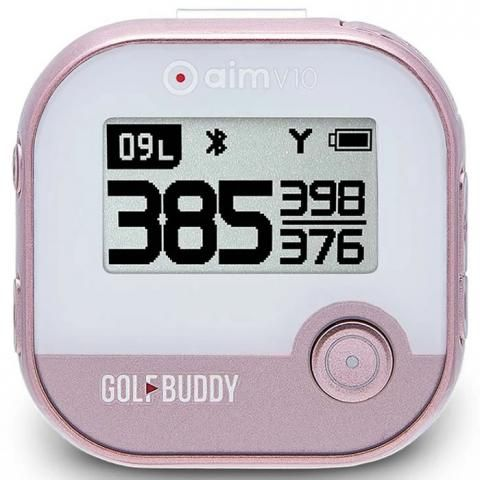 GolfBuddy aim V10 Golf GPS Rose Gold