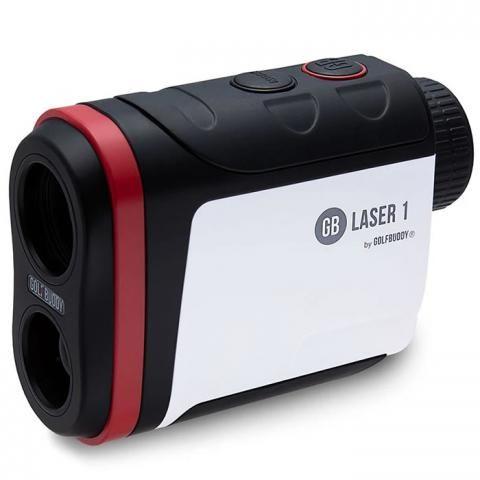 GolfBuddy Laser 1 Golf Rangefinder White/Black/Red
