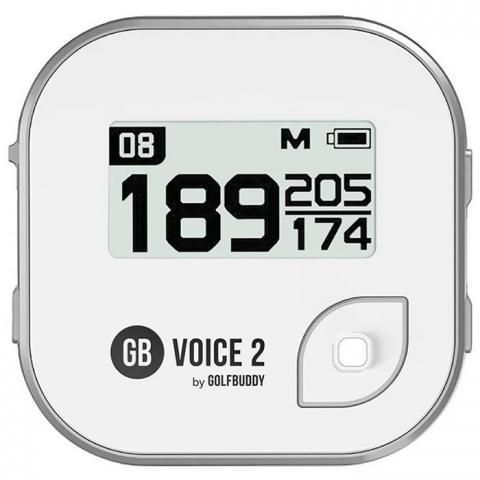GolfBuddy Voice2 Golf GPS White/Silver