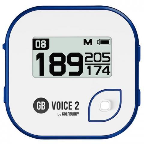 GolfBuddy Voice2 Golf GPS White/Blue