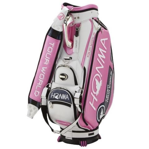 Honma Caddy Golf Tour Staff Bag Pink
