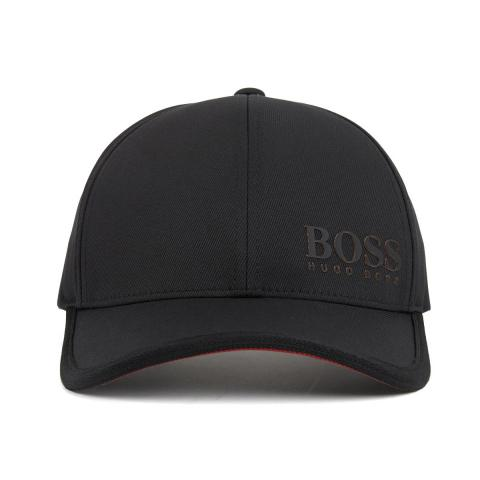 HUGO BOSS ATHLEISURE Cap 1 Baseball Cap Black  a939a034b8b1