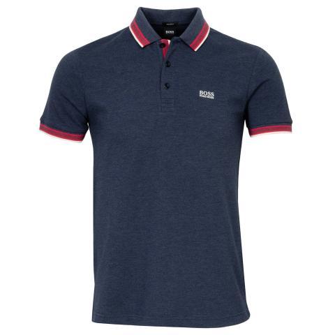 BOSS Paddy Polo Shirt Navy 419