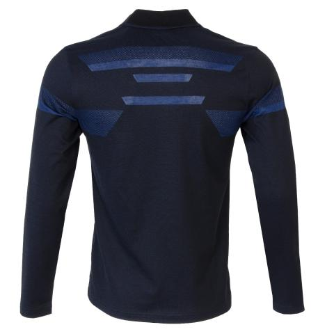 3f37ac76 BOSS ATHLEISURE Piraq Long Sleeved Polo Shirt Black | Scottsdale Golf
