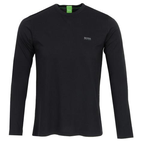 732d2d190 BOSS ATHLEISURE Togn Long Sleeved T-Shirt Black | Scottsdale Golf