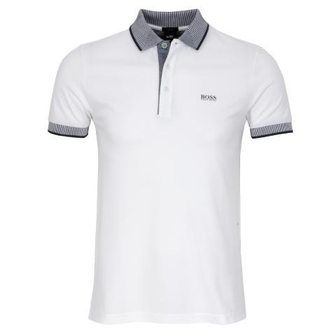 d8531fe2 BOSS Paule 2 Polo Shirt White | Scottsdale Golf