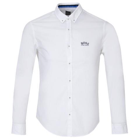 BOSS Biado R Dress Shirt White