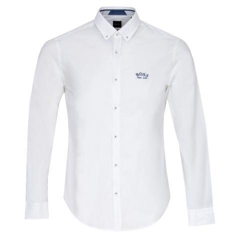 BOSS Biado R Dress Shirt White PF20