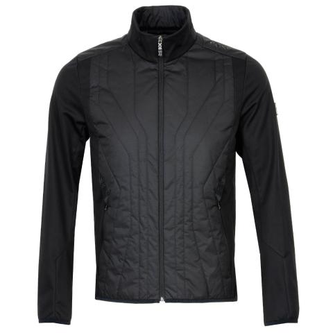 BOSS J Colere Full Zip Padded Jacket Black
