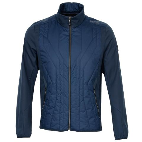 BOSS J Colere Full Zip Padded Jacket Navy