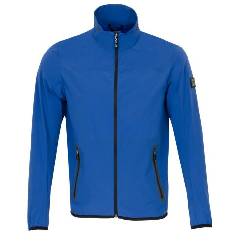 BOSS J Isere Packable Full Zip Jacket Open Blue