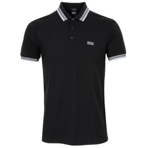 BOSS Paddy Polo Shirt Black 009