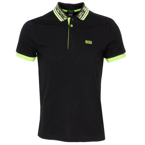 BOSS Paddy 1 Polo Shirt Black AW20