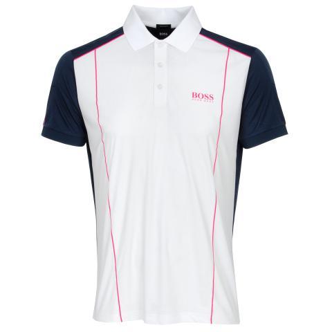 BOSS Paddy 7 Polo Shirt White