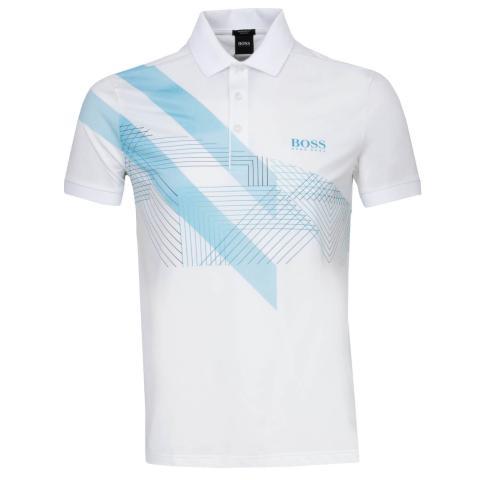 BOSS Paddy 8 Polo Shirt White