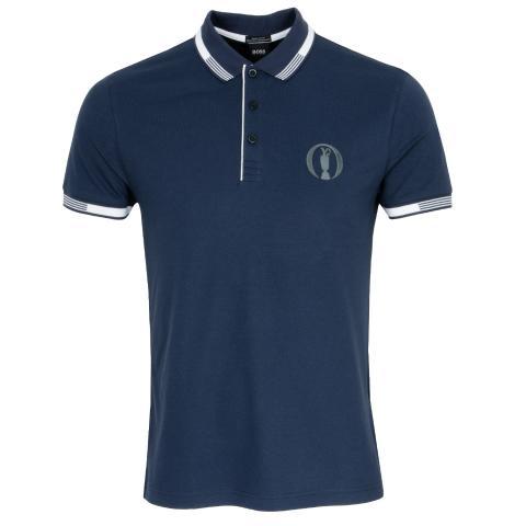 BOSS Paddy BO Open Championship Polo Shirt Navy