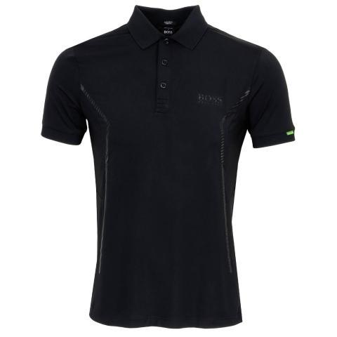 BOSS Paddy MK Polo Shirt Black