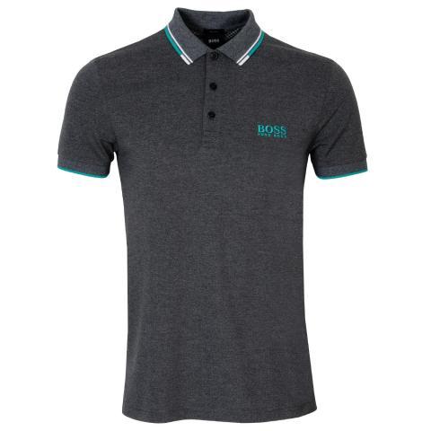 BOSS Paddy Pro Polo Shirt Black 004