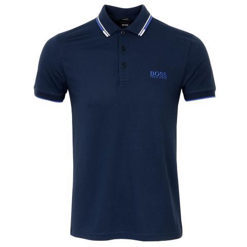 BOSS Paddy Pro Polo Shirt Navy 410