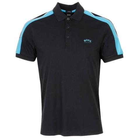 BOSS Paule 1 Polo Shirt Black