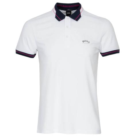 BOSS Paule Curved Polo Shirt