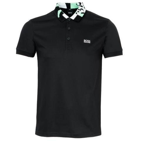 BOSS Paule 2 Polo Shirt Black