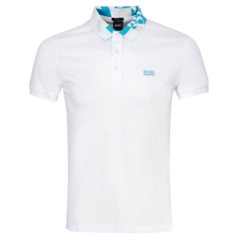 BOSS Paule 2 Polo Shirt White