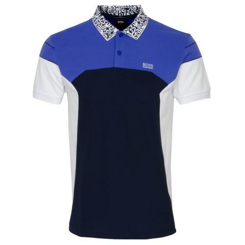 BOSS Paule 2 Polo Shirt Medium Blue