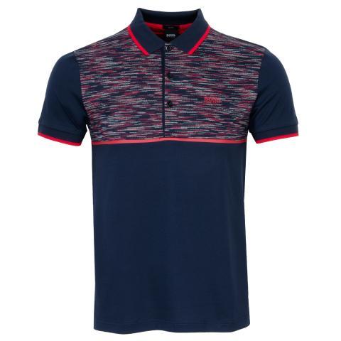 BOSS Paule 5 Polo Shirt Navy