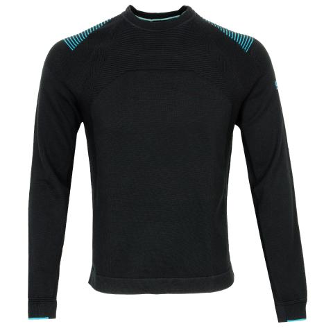BOSS Rowin Crew Neck Sweater Black