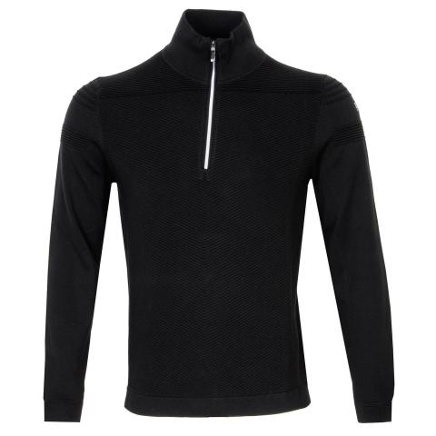 BOSS Zomin Pro Zip Neck Sweater