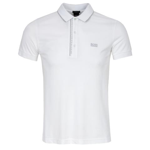 868660e5f HUGO BOSS ATHLEISURE Paule 4 Polo Shirt Natural   Scottsdale Golf