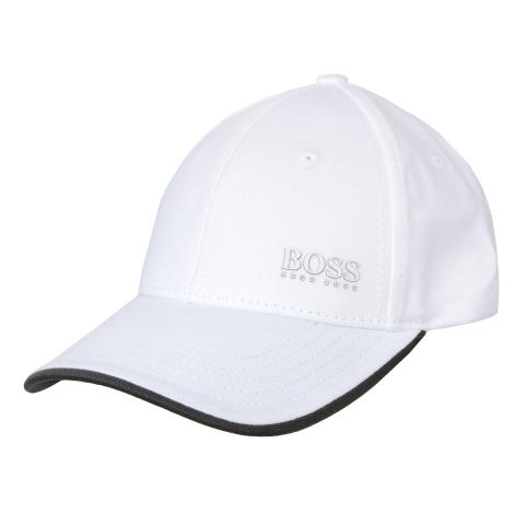 BOSS Cap X Baseball Cap White