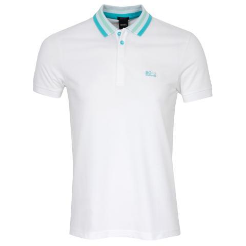 BOSS Paddy 1 Polo Shirt White