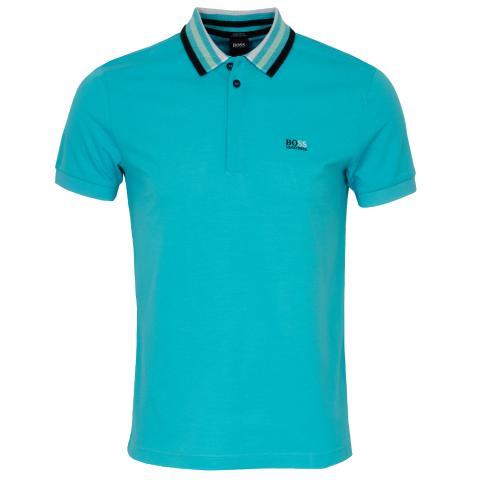BOSS Paddy 1 Polo Shirt Open Blue