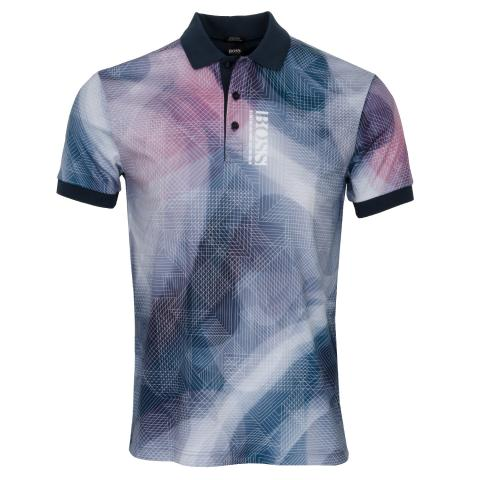 BOSS Paddy 6 Polo Shirt Navy