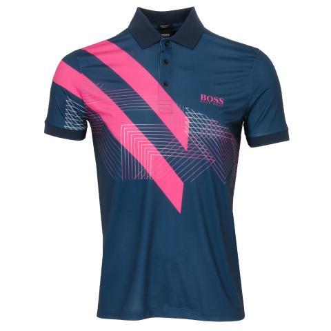 BOSS Paddy 8 Polo Shirt Navy