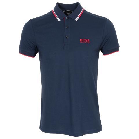 BOSS Paddy Pro Polo Shirt Navy 411