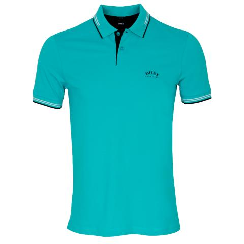 BOSS Paul Curved Polo Shirt