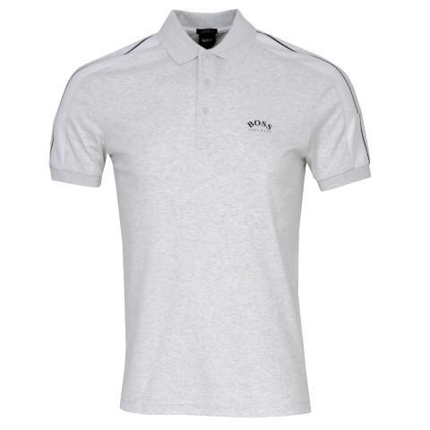 BOSS Paule 1 Polo Shirt Light/Pastel Grey