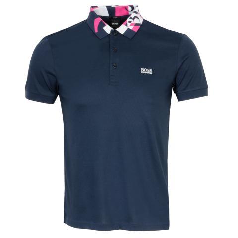 BOSS Paule 2 Polo Shirt Navy