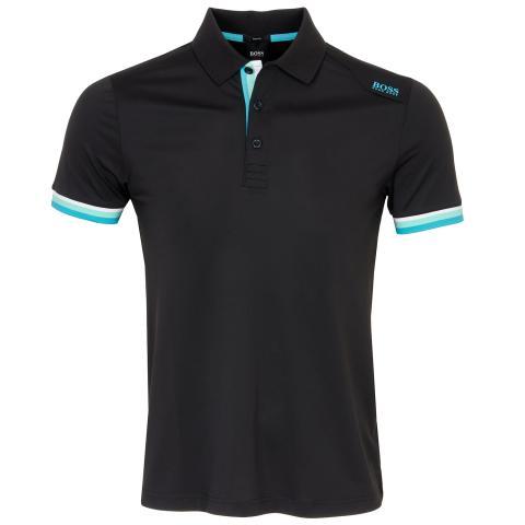 BOSS Paule 6 Polo Shirt Black