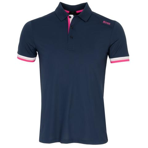 BOSS Paule 6 Polo Shirt Navy