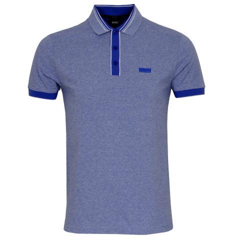 BOSS Paddy 2 Polo Shirt Medium Blue