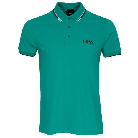 BOSS Paddy Pro Polo Shirt Medium Green 312