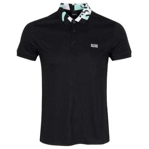 BOSS Paule 2 Polo Shirt Black 001
