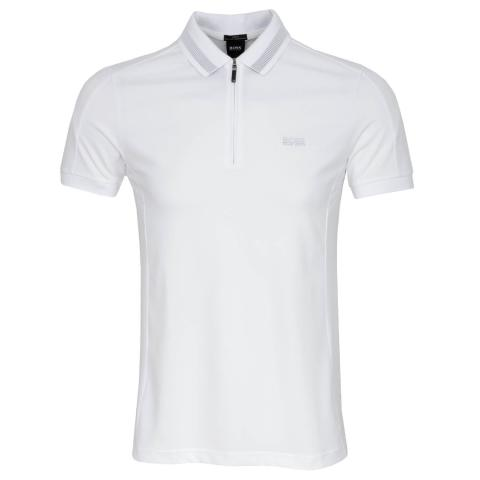 BOSS Philix Polo Shirt White 100